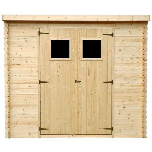 Holzhaus Gartenhaus TIMBELA M310 - Gartenschuppen Holz B239xL142xH200 cm/ 2,63 m2 Lagerschuppen für