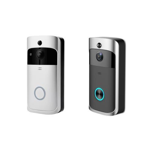XM3 Wi-Fi Türklingel mit Empfänger und 2 Batterien: Silber