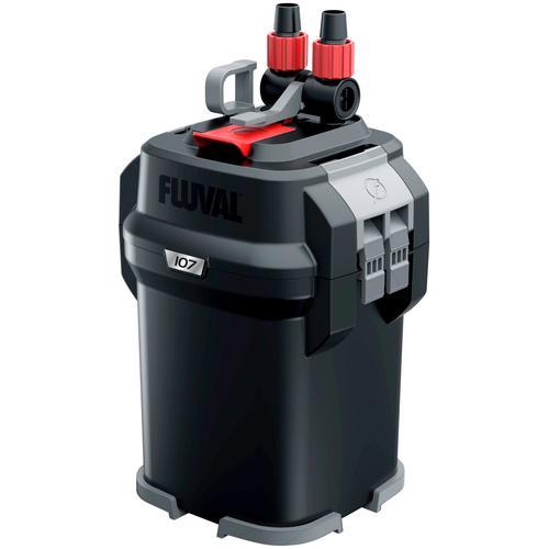 FLUVAL Aquariumfilter FL 107 Außenfilter, 550 l/h, bis 130 l Aquariengröße blau Aquarium-Filter Aquaristik Tierbedarf