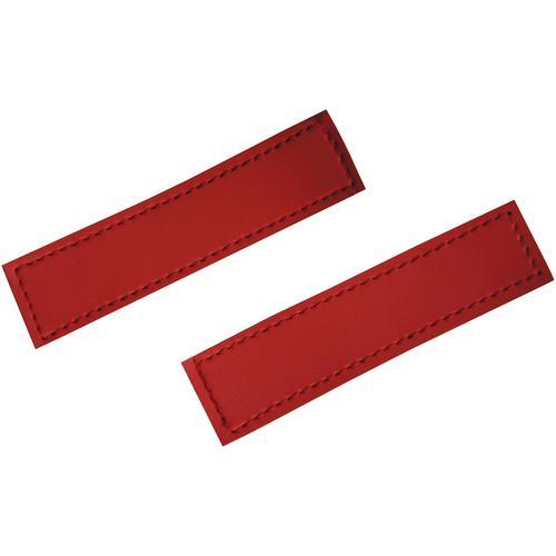 HEIM Klettlogo rot, für Hunde-Profigeschirr rot Hundegeschirr Hund Tierbedarf