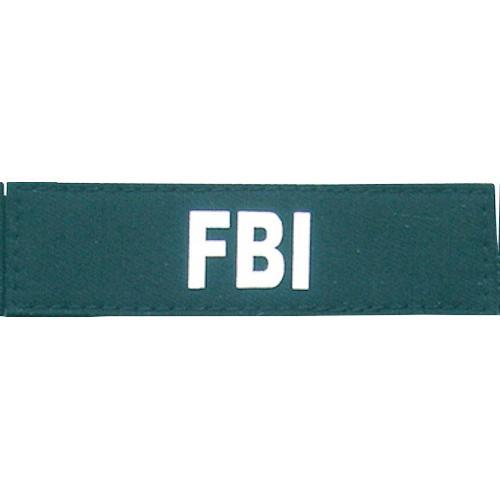 HEIM Klettlogo FBI, für Hunde-Profigeschirr schwarz Hundegeschirr Hund Tierbedarf