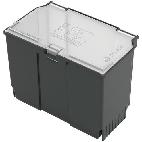 BOSCH Aufbewahrungsbox Zubehörbox klein, (1 St.) grau Werkzeugkoffer Werkzeug Maschinen
