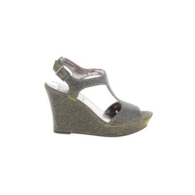 Rampage Wedges: Silver Shoes - Size 8 1/2