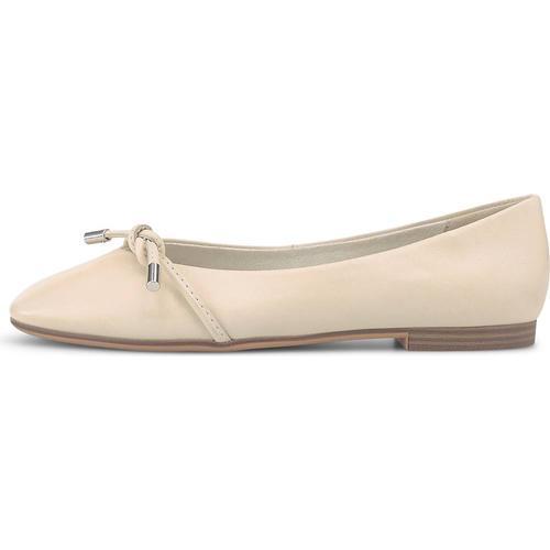 Tamaris, Ballerina in weiß, Ballerinas für Damen Gr. 42