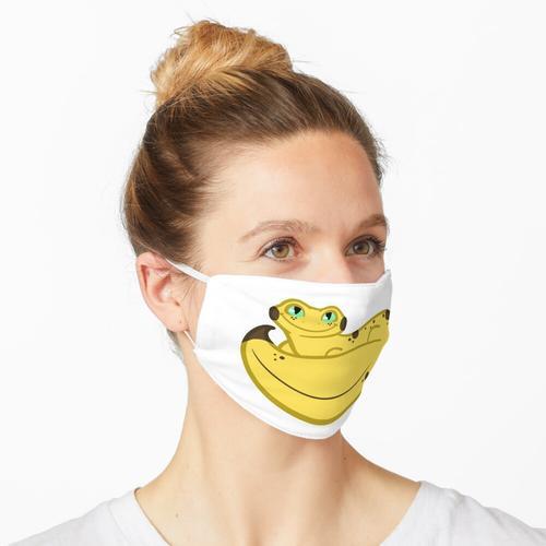 Bananengecko Maske