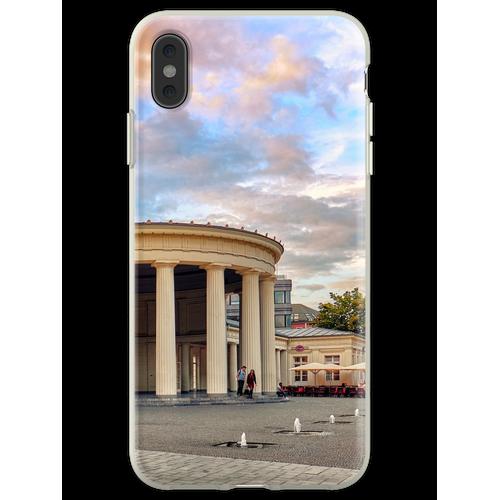 Elisenbrunnen Aachen Flexible Hülle für iPhone XS Max