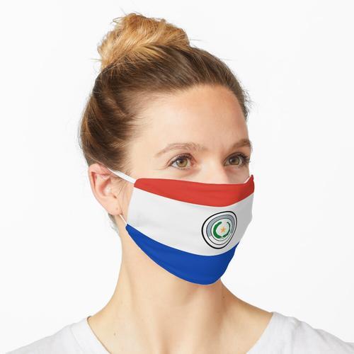 Paraguay - Paraguayische Flagge Maske