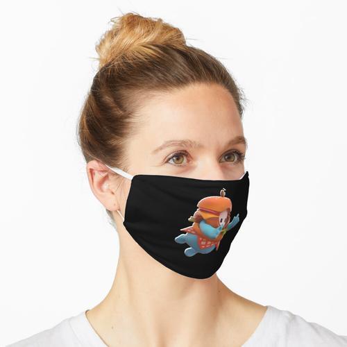 Hamburger Hautcharakter Maske