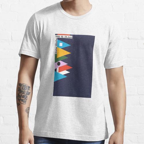 Kieler Woche / Kieler Woche Plakat 1990 Essential T-Shirt