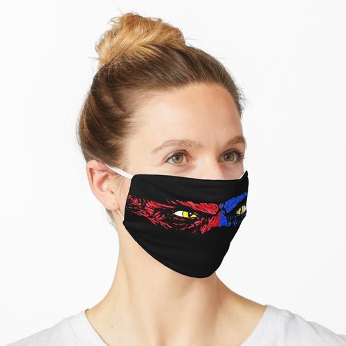 Flauschig 4 Maske