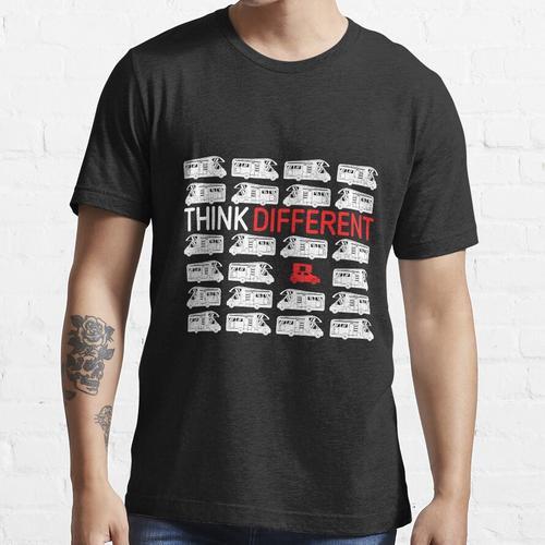 Think Different Dachzelt | Geschenk für Camper mit Dachzelt bzw. Autozelt | Campi Essential T-Shirt