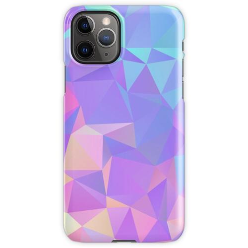 Kristallstruktur Low Poly Pattern Design iPhone 11 Pro Handyhülle