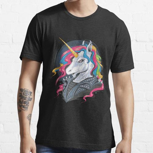 Unicorn Rider Punk Jacke Essential T-Shirt