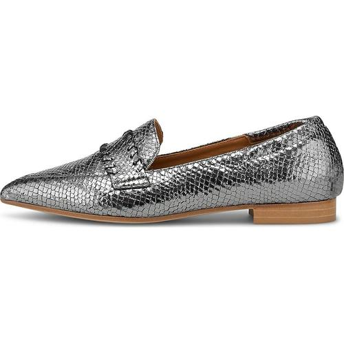 Thea Mika, Slipper in silber, Slipper für Damen Gr. 40