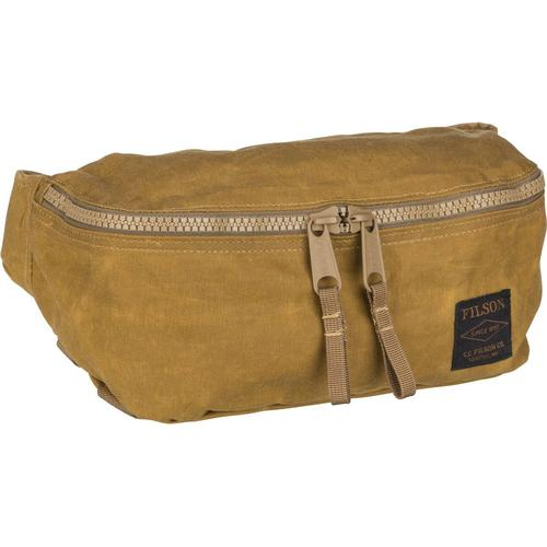 Filson Gürteltasche Tin Cloth Waist Pack Dark Tan (4 Liter)