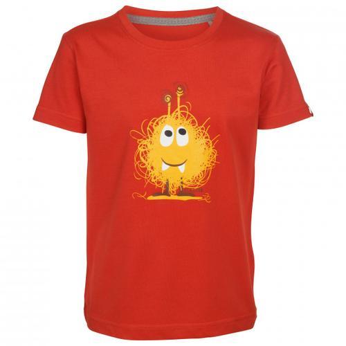 Elkline - Kid's Monster - T-Shirt Gr 128/134 rot