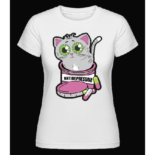 Antidepressiva Katze - Shirtinator Frauen T-Shirt