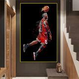 Peinture d'art abstraite Jordan ...