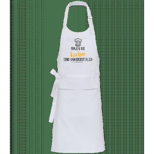 Frauen Die Kochen - Profi Kochschürze