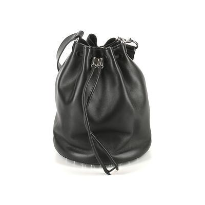 Alexander Wang Bucket Bag: Black Solid Bags