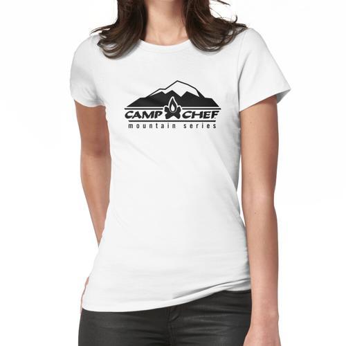Camp Pellet Grill Rauchgrill Frauen T-Shirt