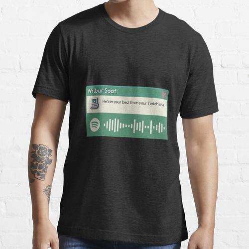 Wibur Soot - Dein neuer Freund - Grün Essential T-Shirt