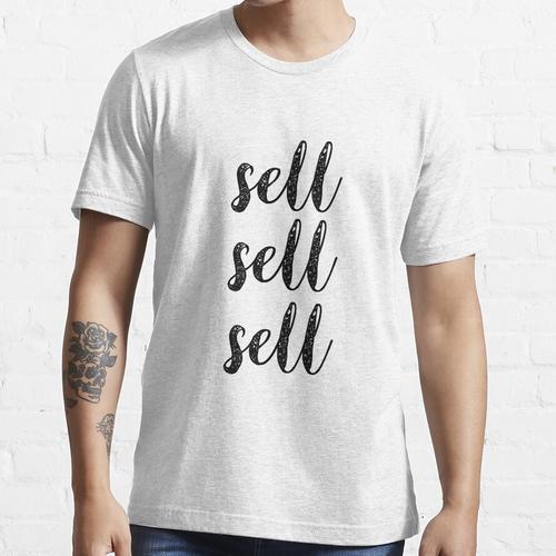 Verkaufen Verkaufen Verkaufen Essential T-Shirt