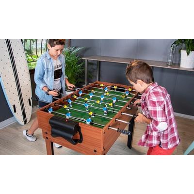 Table ou plateau en bois multi-jeux : Plateau de 14 jeux