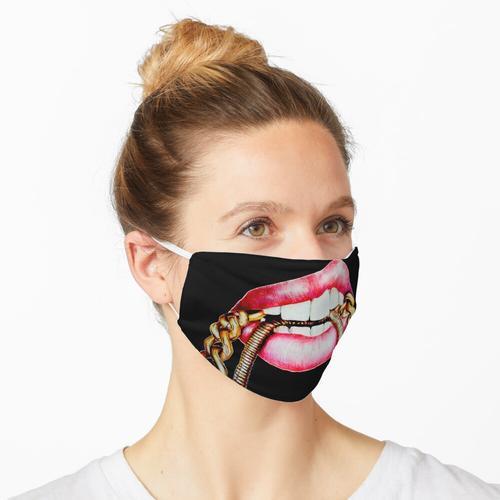 Ketten schmecken gut Maske