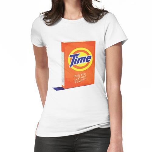 Zeit - das beste Waschpulver Frauen T-Shirt
