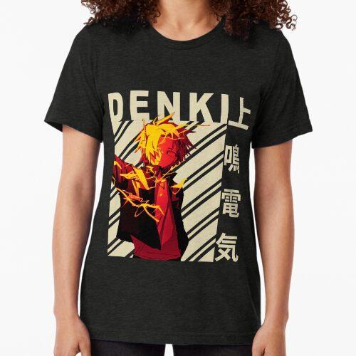Denki Kaminari Vintage Art Vintage T-Shirt