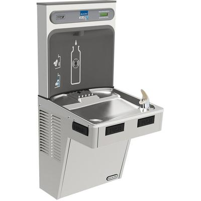 Elkay EMABFDWSSK Wall Mount Drinking Fountain w/ Bottle Filler - Non Refrigerated, Stainless Steel