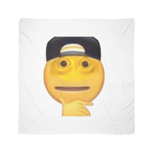 verfluchter Emoji Tuch