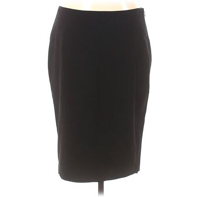 Elie Tahari for Nordstrom Casual Skirt: Black Solid Bottoms - Size 8