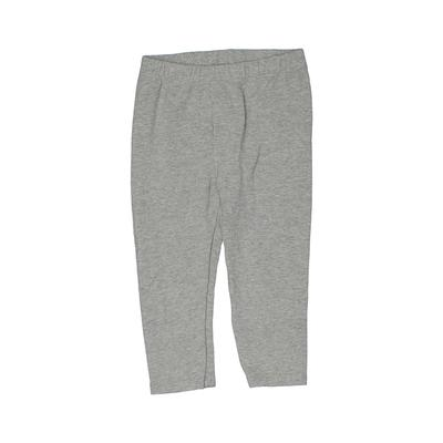 Baby Gap Leggings: Gray Solid Bottoms - Size 3