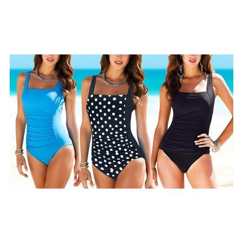 Damen-Badeanzug: Blau / Gr. XS
