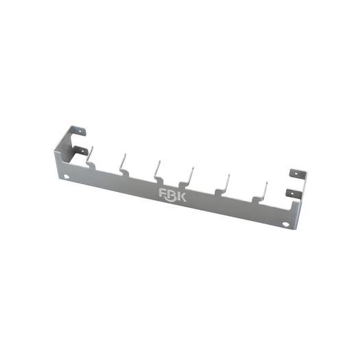 HACCP Stahlbefestigungssystem 580 MM, 6 X Stahl Haken