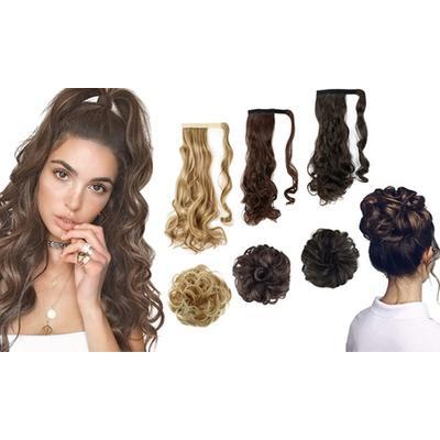 Hair Extensions: Two-Bun/Medium ...
