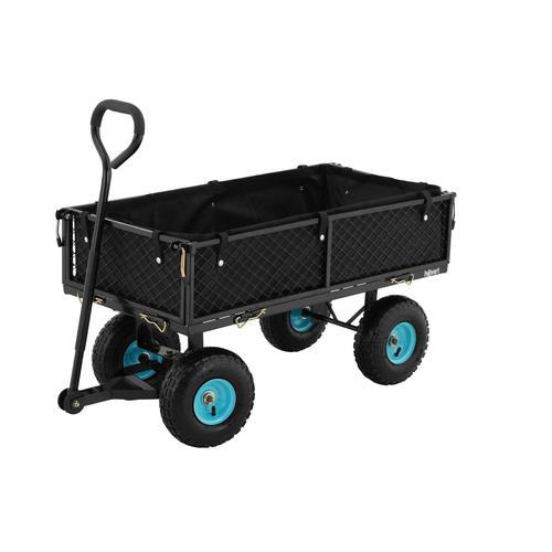 hillvert Bollerwagen - faltbar - 300 kg HT-TWIN 300
