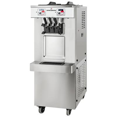 Spaceman 6250A-C Soft Serve Ice Cream Machine w/ (2) 6 qt Flavor Hoppers, 208-230v, 1ph