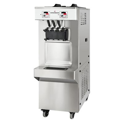 Spaceman 6378-C Soft Serve Ice Cream Machine w/ (2) 15 9/10 qt Flavor Hoppers, 208230v, 1ph