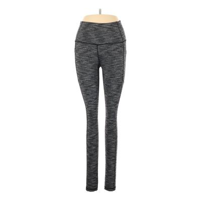 Victoria Sport Active Pants - Mid/Reg Rise: Gray Activewear - Size X-Small