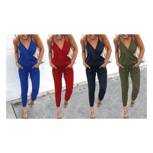 Sommerlicher Damen-Anzug: Grün / Größe M