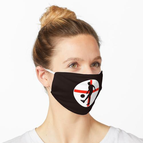 England Fußball Fußballspieler Trikot Logo Maske
