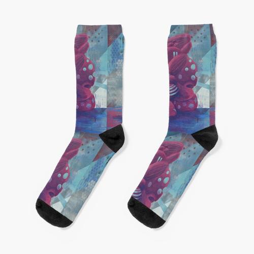 Wachstumsflecken Socken