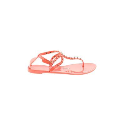 Steve Madden Sandals: Pink Solid Shoes - Size 40