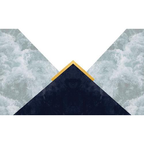 Consalnet Papiertapete »Dreiecke / Himmel Optik«, geometrisch