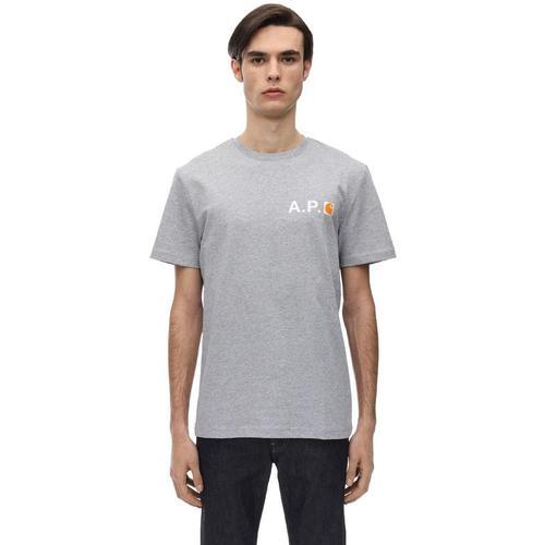 A.P.C. T-shirt Aus Baumwolle