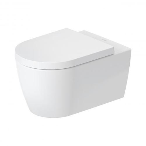 Duravit ME by Starck Wand-Tiefspül-WC, HygieneFlush, rimless L: 57 B: 37 cm weiß matt/weiß, mit HygieneGlaze 2579099000