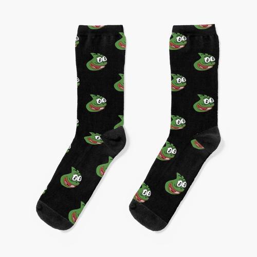 Pepega Hochwertiges Emote Socken